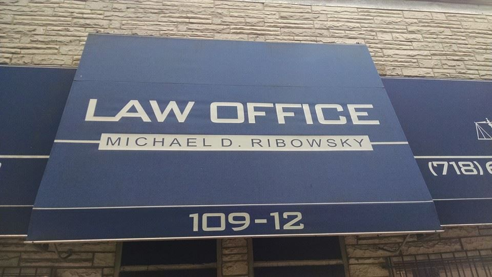 Michael D. Ribowsky Accident Law Awning