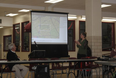 A Community Board 5 meeting in 2017 about Juniper Valley Park.