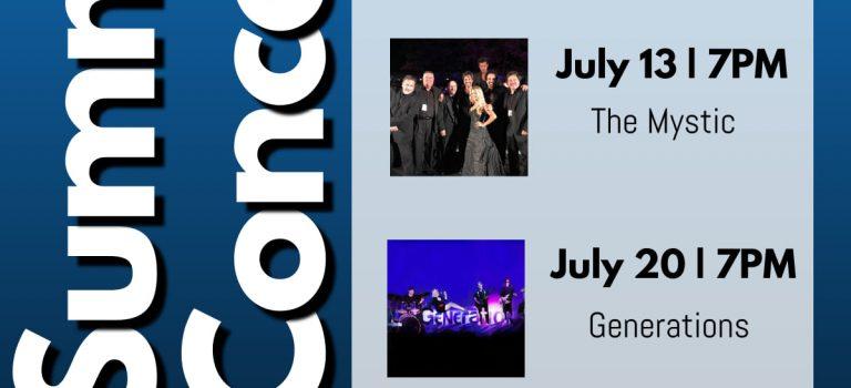 Juniper Valley Park Summer Concert 2021 Schedule
